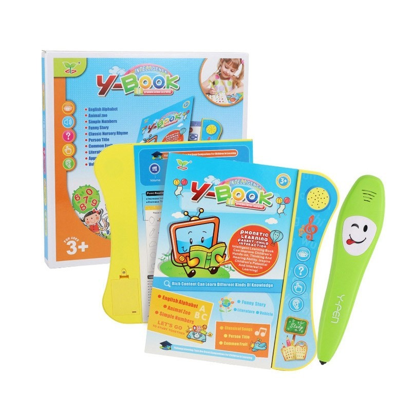 YS2605C Point Reading Tablet Learning Machine for Children - Multi - 5649358212