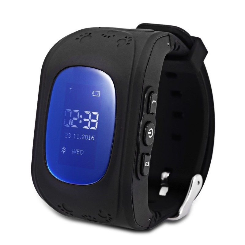 Q50 (q1213) English Version Kids GPS Smart Watch Telephone - Black - 2G87190518