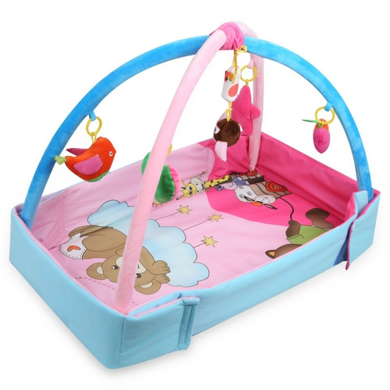 Baby Game Mat Playing Carpet Infant Kids Educational Toy - Pink - 3774483113