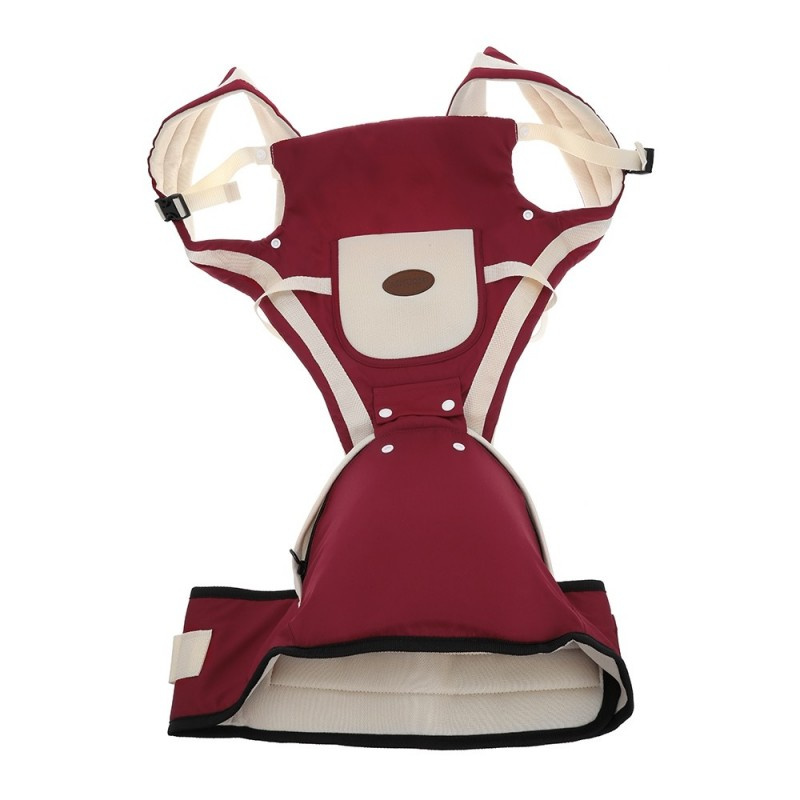 Multifunctional Baby Stool Suspender Carrier - Red - 3F42873814