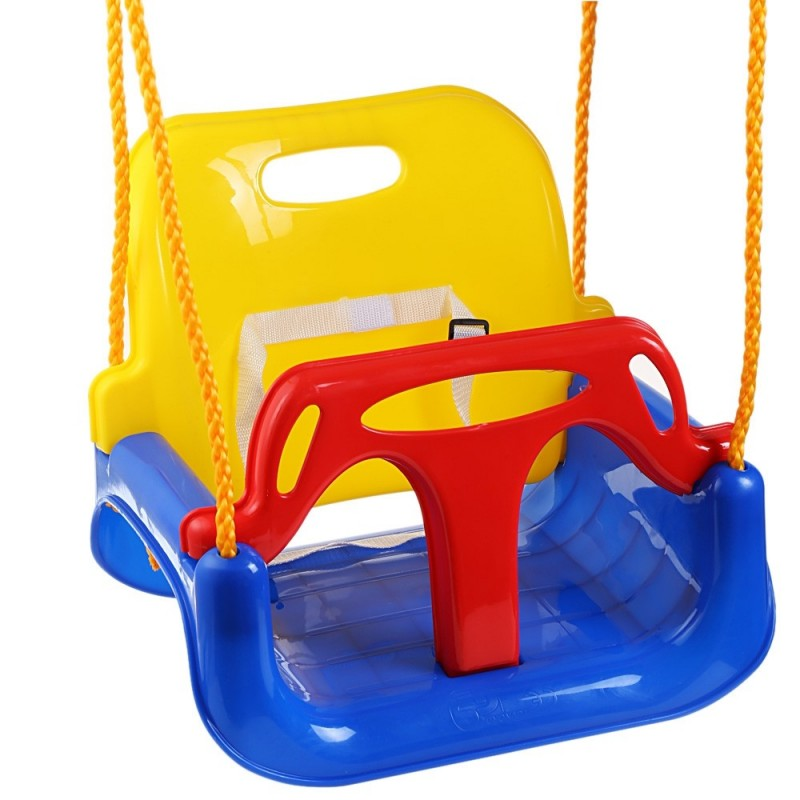 3 in 1 Multifunctional Baby Swing Hanging Basket Outdoor Sport Child Toy - Colormix - 2I95020512
