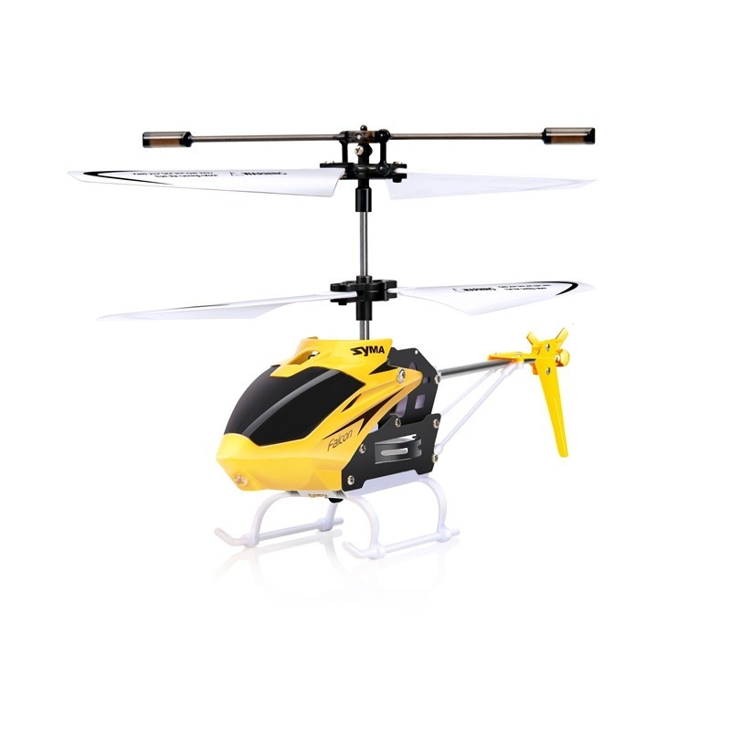 SYMA W25 2CH Indoor Small RC Electric Aluminium Alloy Remote Control Helicopter for Kids - Daisy - 3869410513