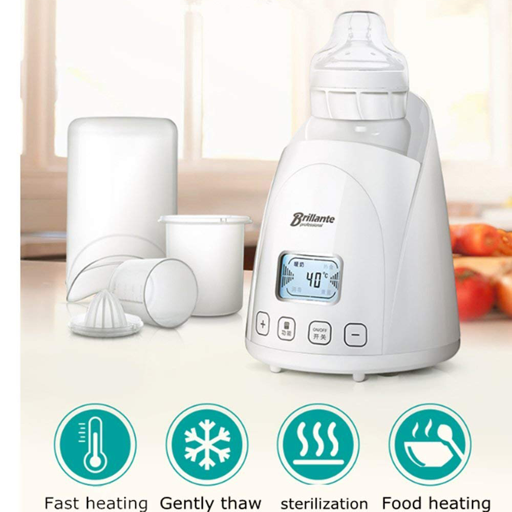 Brillante Electric Baby Bottle Warmer 5 in 1 Accurate Temperature Control