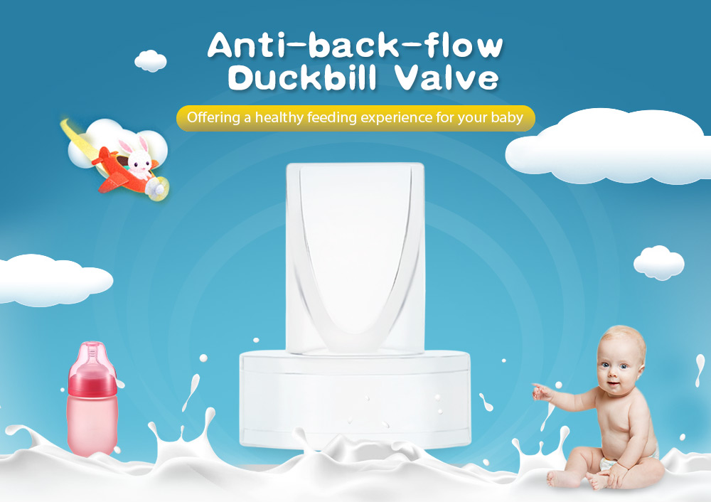 Product Accessory Anti-back-flow Duckbill Valve for Breast Pump
