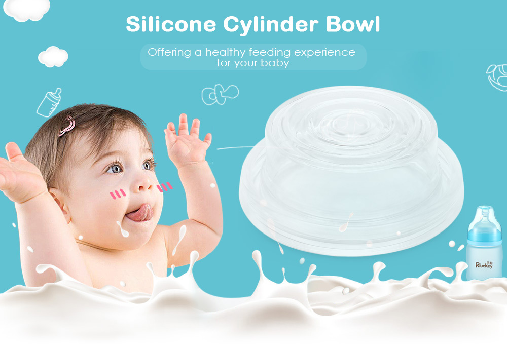 Product Accessory Silicone Cylinder Bowl for Electric Breast Pump