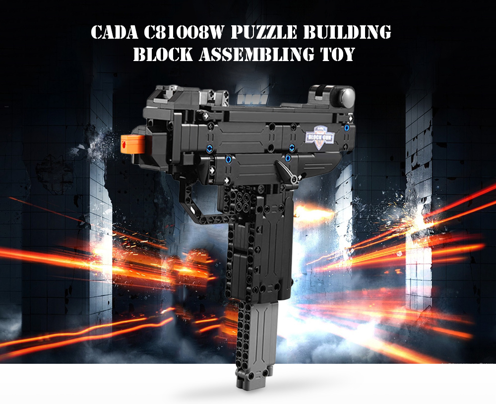 CaDA C81008W Puzzle Building Block Assembling Toy