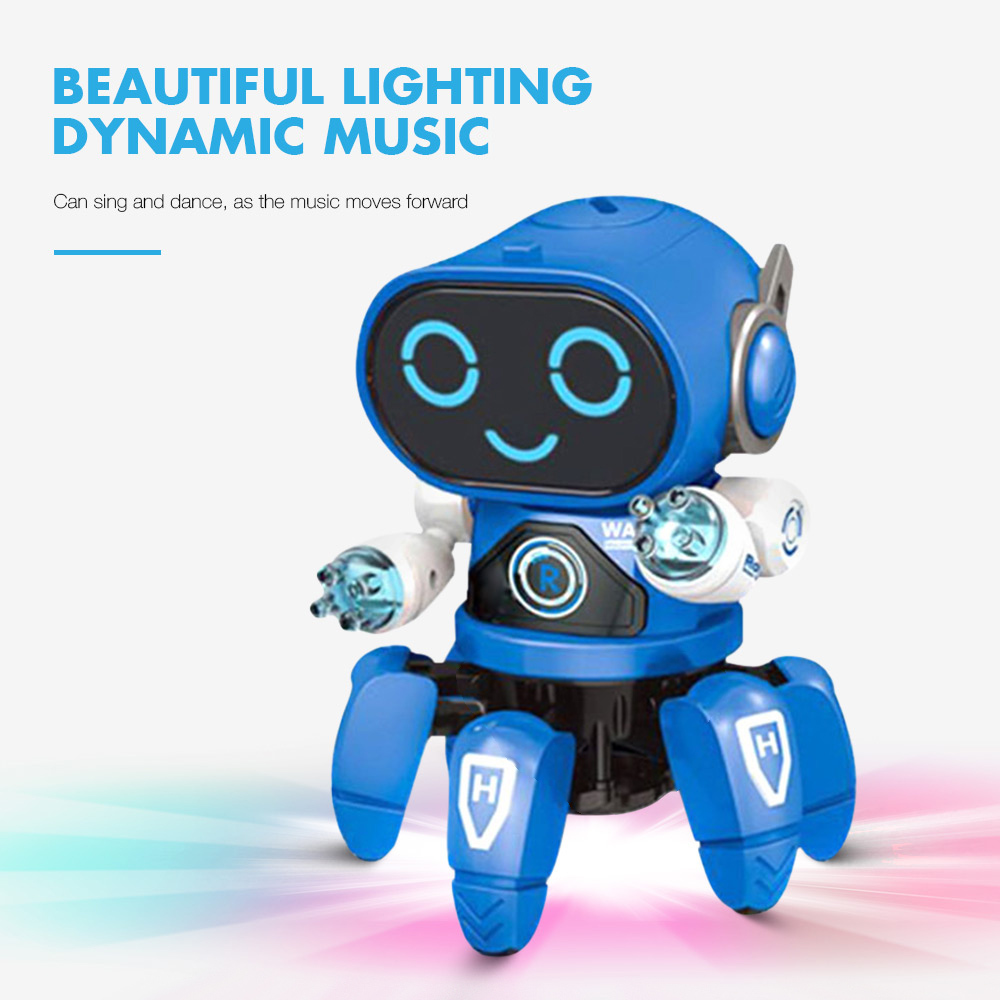 Squid Light Music Dancing Electric Robot